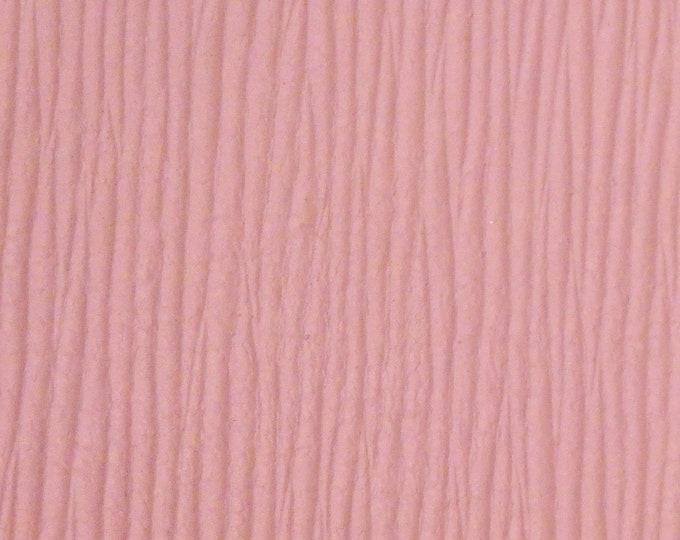"""Leather 12""""x12"""" TROPICAL Leaf BLUSH PINK Cowhide (Similar to Palm Leaf) Grain 2.5-3 oz / 1-1.2 mm PeggySueAlso™ E9500-01 Hides Available"""