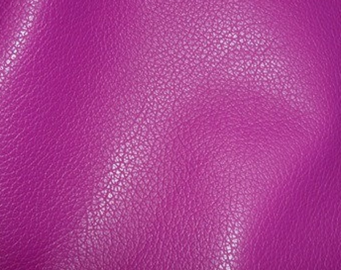 "Leather 12""x20"" or? Divine Dark MAGENTA Purple soft top grain Cowhide 2-2.5oz / .8-1mm  PeggySueAlso™ E2885-25 hides available"