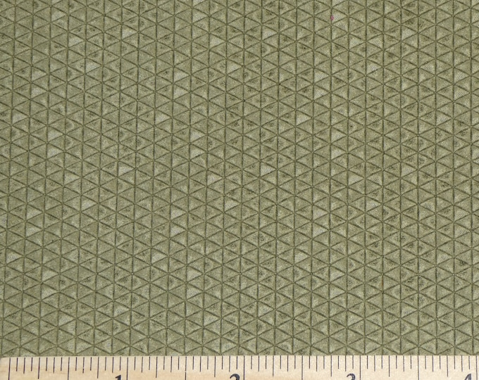 "New Color Leather 12""x12"" Mini Triangles OLIVE / Light KHAKI On Firm Italian Cowhide 3-3.25 oz / 1.2-1.3 mm PeggySueAlso™ E3172-07 hides too"