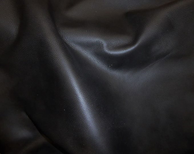 "New shade Leather 12""x20""+ Bomber King CHARCOAL SLATE Marbled SOFT thick Cowhide 3-3.25oz / 1.2-1.3mm PeggySueAlso™ E2882-04 hides available"
