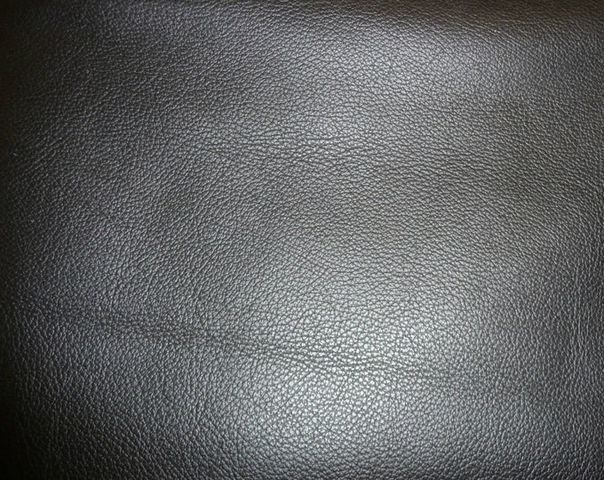 """Leather 20""""x20"""" Biker BLACK Top Grain Cowhide 3-3.5 oz / 1.2-1.4mm PeggySueAlso™ E2879-03 Hides available"""
