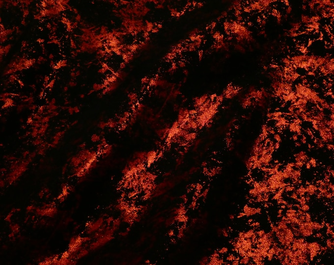 "Metallic Leather 12""x12"" Northern Lights Metallic RED on BLACK Cowhide 3.5 oz / 1.4 mm PeggySueAlso™ E6525-06 hides available"