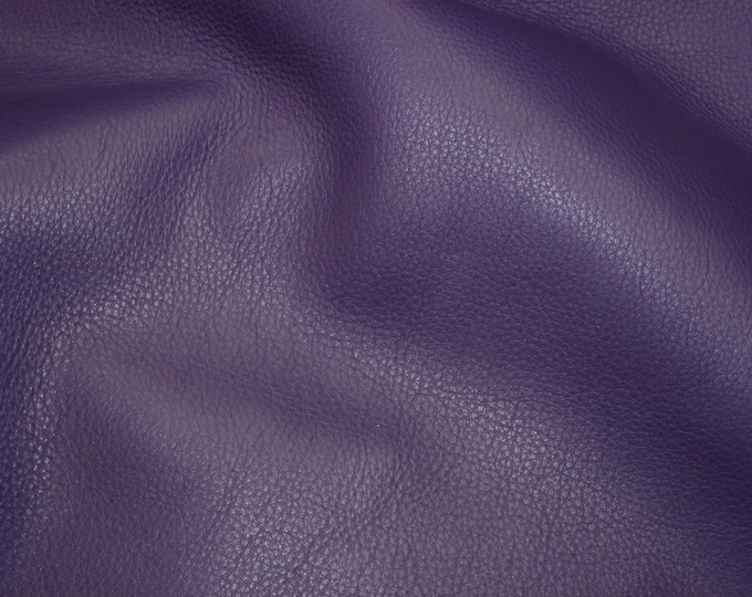 "Leather 20""x20"" KING line Rich Purple Soft full grain SOFT Cowhide 3-3.5 oz / 1.2-1.4 mm PeggySueAlso™ E2881-14"