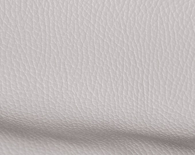 """Leather 8""""x10"""" Imperial CEMENT light GRAY Fully Finished Pebble Grain Thick Italian Cowhide 3.75-4 oz/1.5-1.6 mm PeggySueAlso™ E3205-05"""