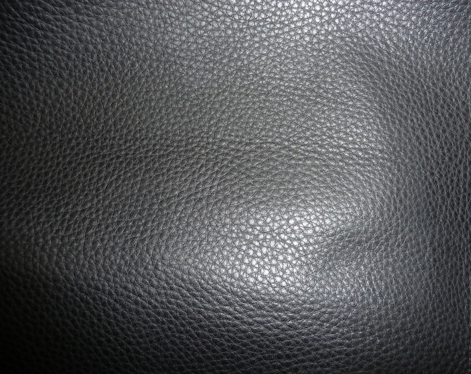 "Leather 10""x24"" or 12""x20"" or 15""x15"" Black Butter soft - Tanned to feel like Deerskin - Naked COWHIDE - 3.75-4 oz / 1.5-1.6 mm PeggySueAlso"