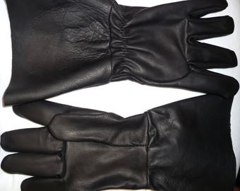 f92d79a4140c UNLINED Goatskin Motorcycle Gloves  7998 with a 5