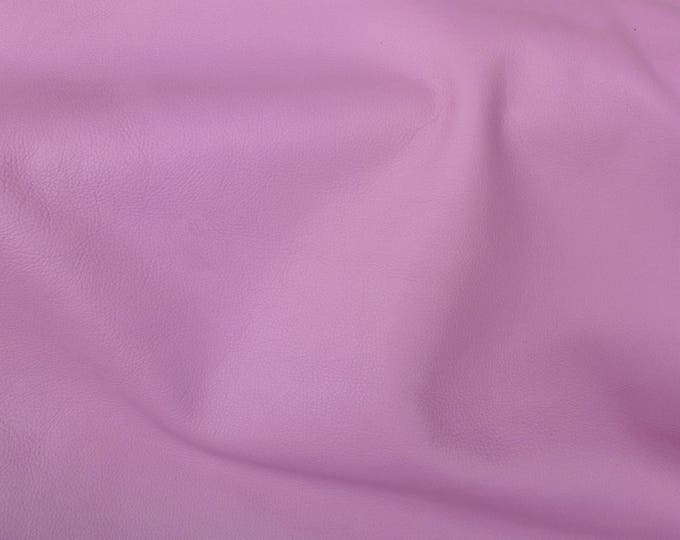 """Leather 8""""x10"""" King French MAUVE Full Grain Cowhide 3.25-3.5 oz / 1.3-1.4 mm PeggySueAlso™ E2881-25 Full hides available"""