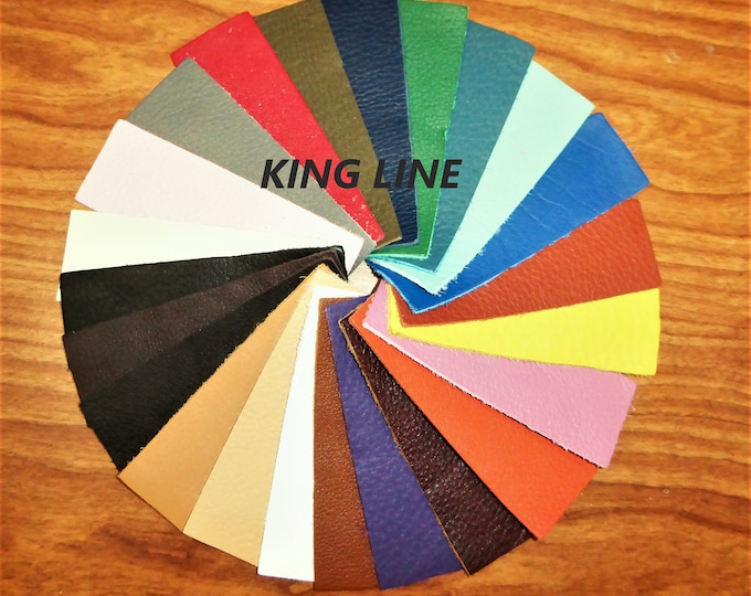 "Leather 8""x10"" KING / BOMBER KING (Our Premium Full Grain Line of leathers) Your choice of C0LOR 2.75-3.25oz /1.1-1.3 mm PeggySueAlso™ E2881"