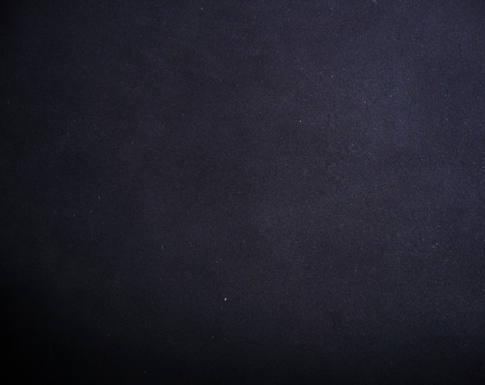 """Suede Leather 8""""x10"""" Classic NAVY Blue Garment Cowhide 3.5oz / 1.4mm PeggySueAlso™ E2827-07"""