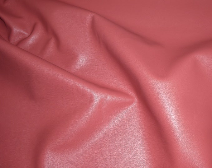 """Leather 8""""x10"""" Divine SALMON Top Grain Cowhide 2.5oz/ 1mm PeggySueAlso™ E2885-56 hides available"""