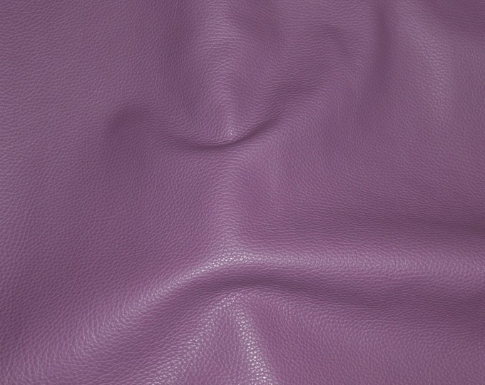 """NEW Leather 12""""x12"""" Imperial AMETHYST PURPLE Fully Finished Pebble Grain Thick Italian Cowhide 3.75-4oz/1.5-1.6 mm PeggySueAlso™ E3205-07"""