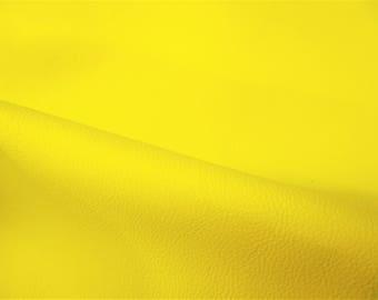 neon yellow leather etsy