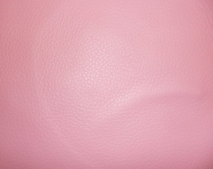 "Leather 12""x12"" King SOFT PINK Full Grain Cowhide 3 oz / 1.2 mm PeggySueAlso™ E2881-05 Full hides available"