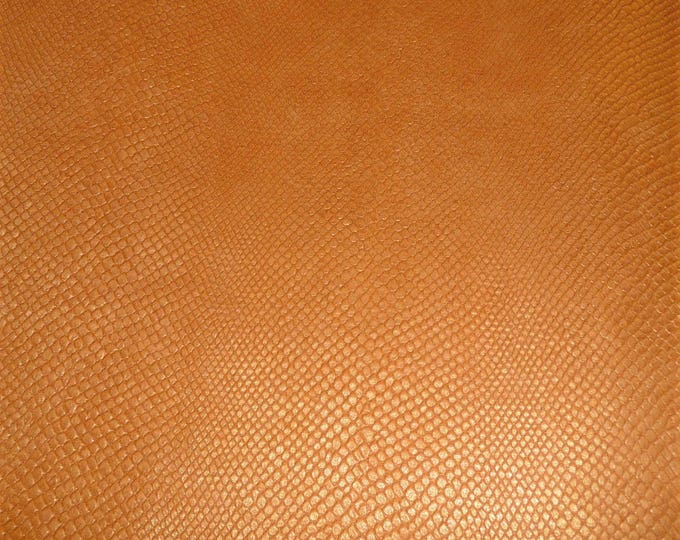 Leather CLOSEOUT Amazon Cobra Pearlized GOLDEN TOPAZ Cowhide 2.5oz/1mm #100 PeggySueAlso™ E2972-05