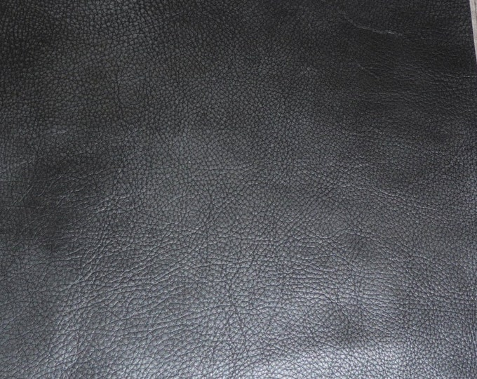 "Leather 12""x20"", 10""x24""...Bomber King CHARCOAL SLATE Marbled SOFT thick Cowhide 3-3.25oz / 1.2-1.3mm PeggySueAlso™ E2882-04 hides available"