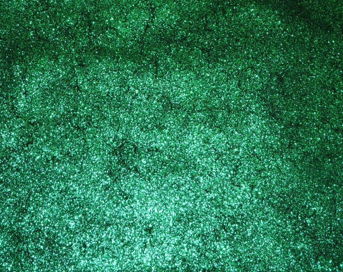 Metallic Leather 3-4-5 sq ft Vintage Crackle EMERALD GREEN on BLACK Calfskin 2.5-3 oz / 1-1.2 mm PeggySueAlso™ E2844-13