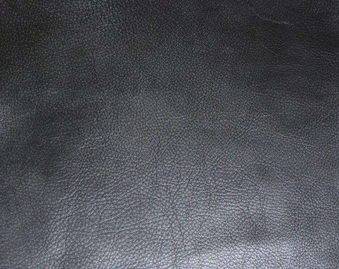 """Leather 20""""x20"""" Bomber King CHARCOAL SLATE Marbled SOFT thick Cowhide 3-3.25oz / 1.2-1.3mm PeggySueAlso™ E2882-04 Full hides available"""