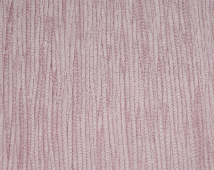 Leather 3+ sq ft Palm Leaf LIGHT PINK Cowhide 3-3.25 oz / 1.2-1.3 mm PeggySueAlso™ E3171-13 Hides Available