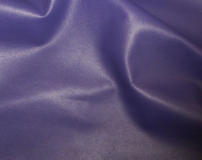 "Leather 8""x10"" Divine NEW PURPLE top grain soft Cowhide 2-2.5oz / .8-1mm PeggySueAlso™ E2885-07 Full hides available"