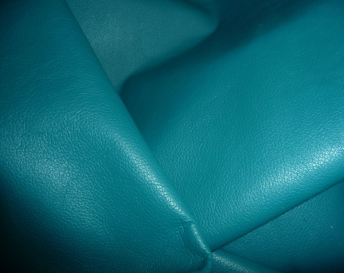 "Leather 20""x20"" Divine DARK TURQUOISE Top Grain Cowhide 2-2.5oz /.8-1mm PeggySueAlso™ E2885-23 Full Hides Available"