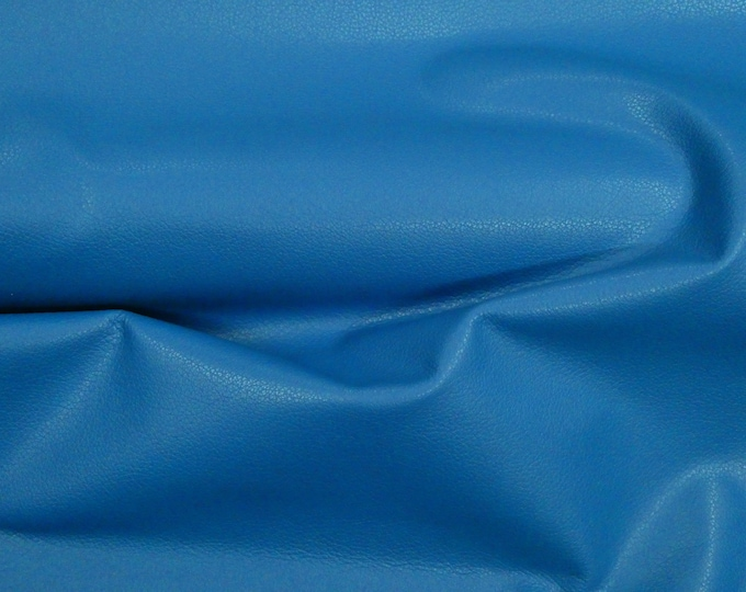 """Leather 8""""x10"""" Divine ROYAL BLUE Top Grain Cowhide 2.5oz/ 1mm PeggySueAlso™ E2885-33 Full hides available"""