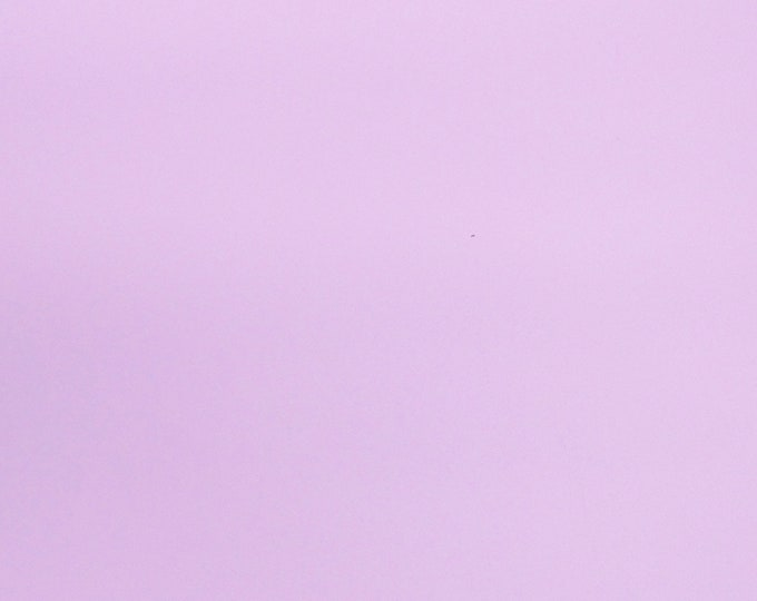 """Leather 8""""x10"""" Light LILAC BABY CHOPPER FiRM Cowhide, no grain - its smooth thick 5 oz/2 mm 5/64"""" PeggySueAlso™ E2240-03"""