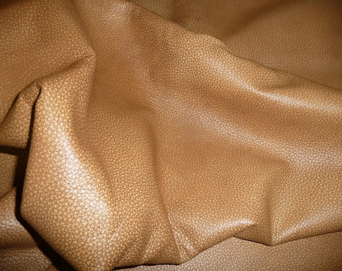 """Leather 12""""x12"""" Bomber King CARAMEL CAMEL TAN  Marbled Soft Cowhide 3-3.25oz / 1.2-1.3mm PeggySueAlso™ E2882-01 Hides available"""