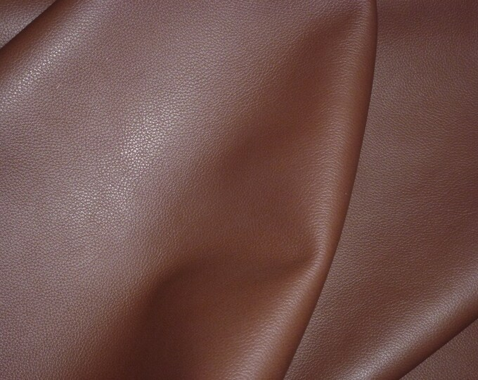 "Leather 12""x20"" or 10""X24"" or 15""x15"" ++ Biker HICKORY Brown Thick Cowhide 3 oz / 1.2mm PeggySueAlso™ E2879-09"