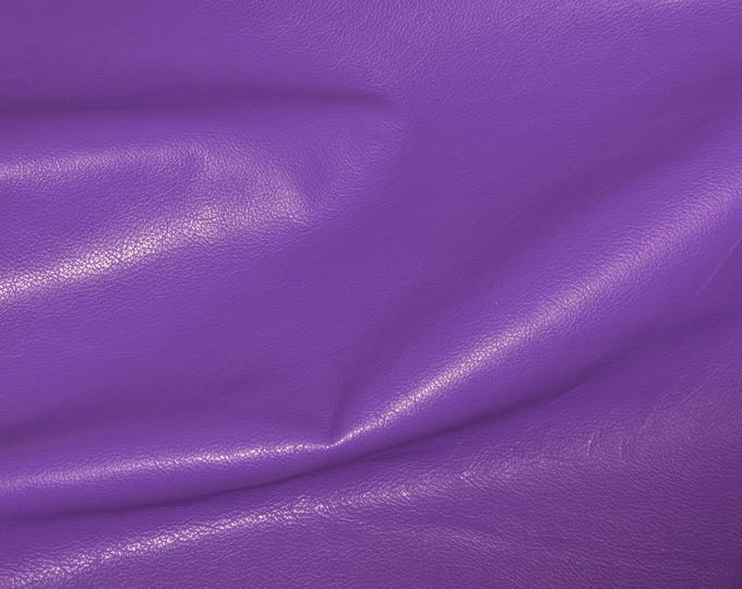"Leather 8""x10"" Divine IRIS Purple Top grain Cowhide 2-2.5 oz / 0.8-1 mm PeggySueAlso™ E2885-42 Full hides available"