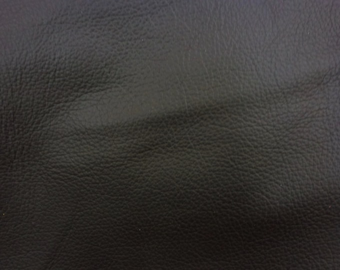 "Leather 12""x12"" Milan DARK ESPRESSO Brown Top Grain Cowhide 2.5-3 oz / 1-1.2 mm PeggySueAlso™ E2840-04"