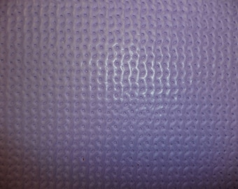 """Leather SALE 2 Pieces 8""""x10"""" WAFFLE Weave Pattern Purple Lilac Cowhide 2.5 oz / 1 mm PeggySueAlso™ E3000"""