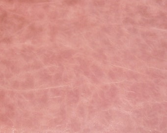 """Leather 12""""x12"""" FINE RiVIERA Pull up effect Cherry BLOSSOM PINK with a slight sheen Cowhide a softer, richer Riviera 3 oz /1.2 mm E2933-03"""