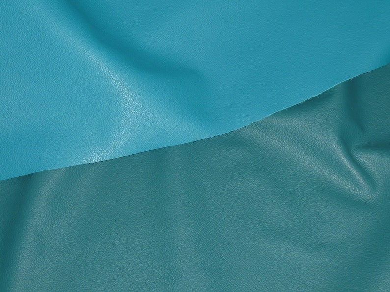 Leather 12x12 Divine TEAL GREEN Top Grain Cowhide 2.5oz 1mm PeggySueAlso\u2122 E2885-55 Hides Available