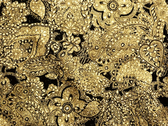 Leather 8x10 Paisley Love GOLD Metallic on BEIGE Soft Cowhide Leather 3-3.5oz 1.2-1.4 mm PeggySueAlso\u2122 E3110-06 Hides available