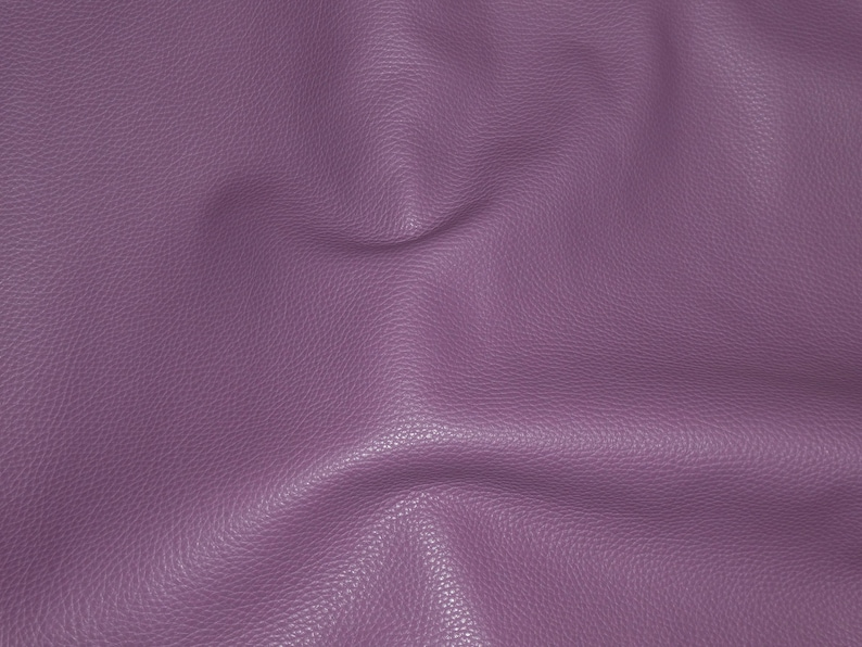 Leather 8x10 Imperial AMETHYST PURPLE Fully Finished Pebble Grain Thick Italian Cowhide 3.75-4oz1.5-1.6 mm PeggySueAlso\u2122 E3205-07