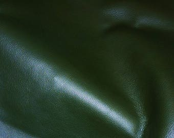 """Leather 8""""x10"""" Duchess FOREST GREEN (a thinner KING) Cowhide 2.25-2.75 oz / 0.9-1.1 mm PeggySueAlso™ E2080-07"""