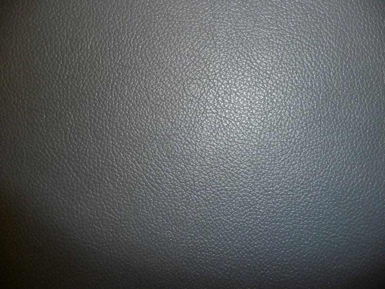 Leather 12x12 Divine DARK Gray Top Grain Cowhide image 0
