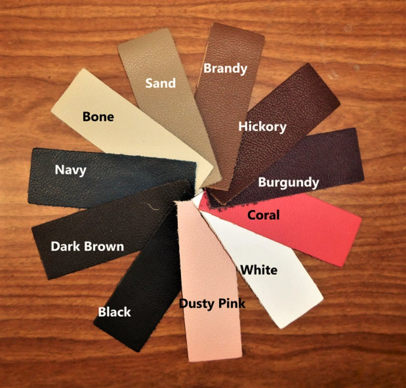 Leather 8x10 BIKER line Choose from 11 colors from our Cowhide Soft Top grain Your choice of color 3-3.5 oz  1.2-1.4mm PeggySueAlso\u2122