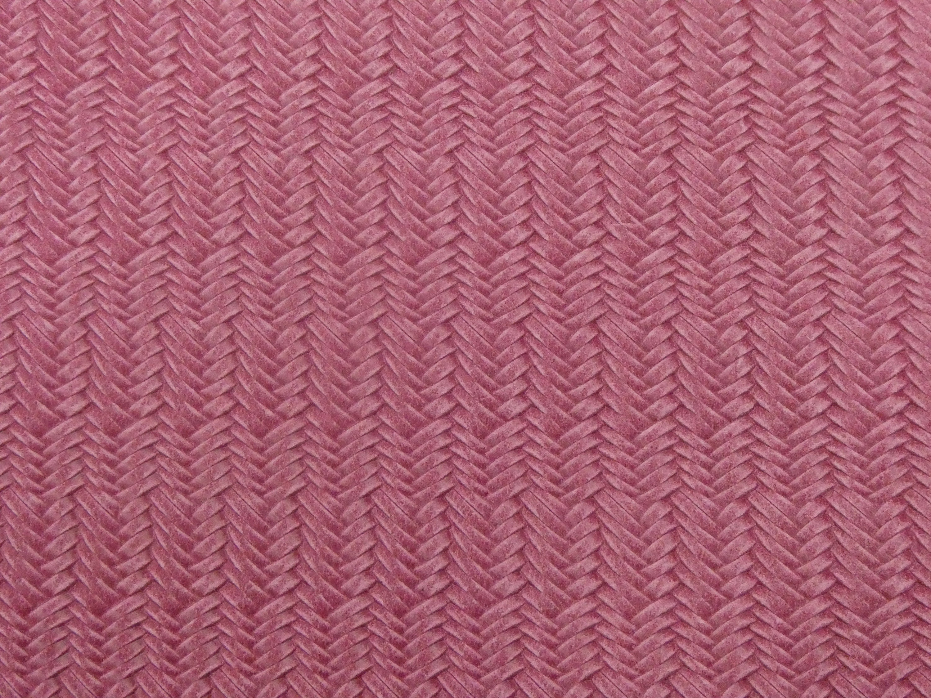 Leather 8x10 DOUBLE BASKET Weave PINK and white Cowhide 3.5 oz  1.4 mm PeggySueAlso\u2122 E1602-05 Hides Available