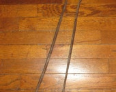 Antique Tongs Large Hand Forged Hand Wrought Blacksmith Made Blacksmith Tool