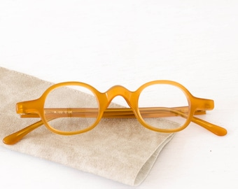 APIS - Eyeglasses - Arminho collection - handmade in portugal - honey bee color
