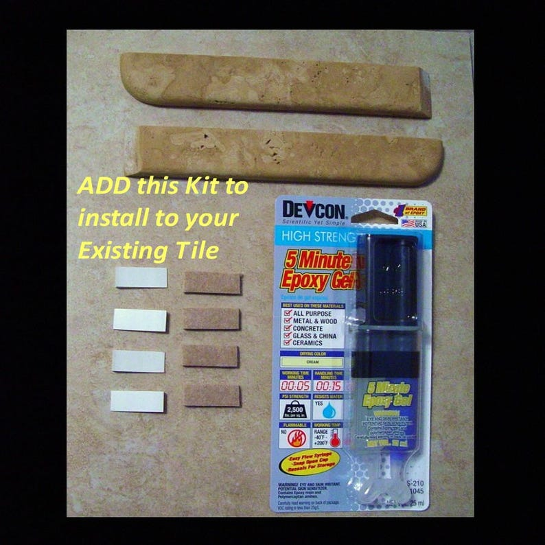 AFTER TILE INSTALLATION Kit Kit will be matched to your image 0