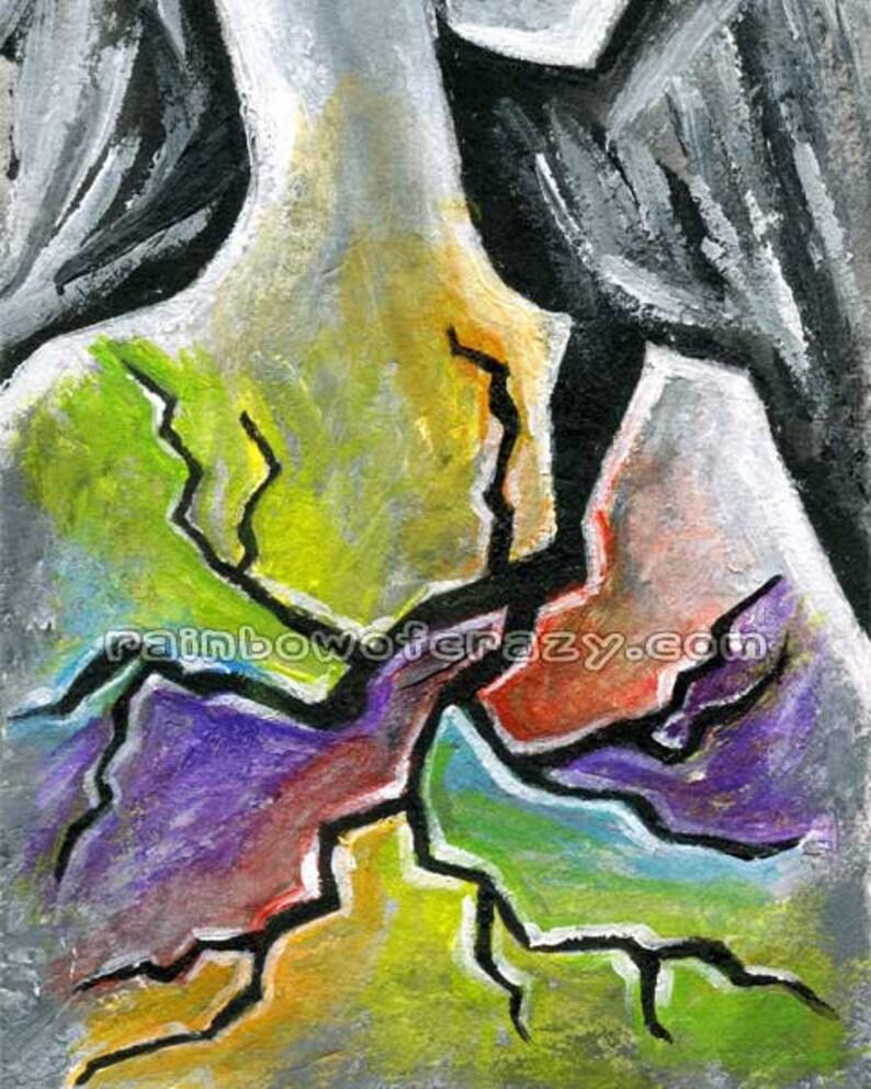 Surreal Art Chronic Pain Depression Awareness Mental | Etsy
