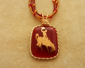 Red Cowboy Necklace2