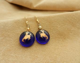 Cowgirl Blues Earrings