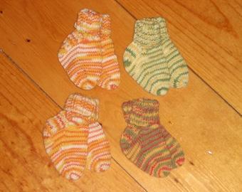 4 Foot Your Choice Wool Baby Socks