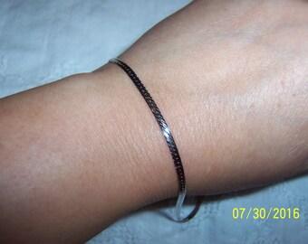 Vintage Omega Bracelet. Sterling silver.