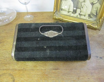 Antique Foot Warmer for a Sleigh , Model T, Buggy......... Foot Warmer. Carpeted Foot Warmer. Vintage Foot Warmer.