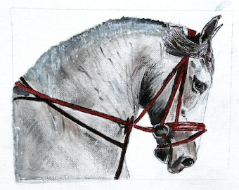 Acrylic painting of a Horse