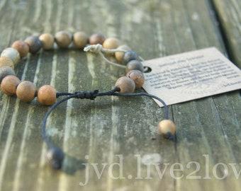 natural clay bracelet